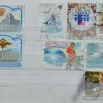 Погашенные художественные марки