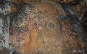 Наскальные рисунки в Суук-кобе