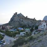 Вид на Судакскую крепость