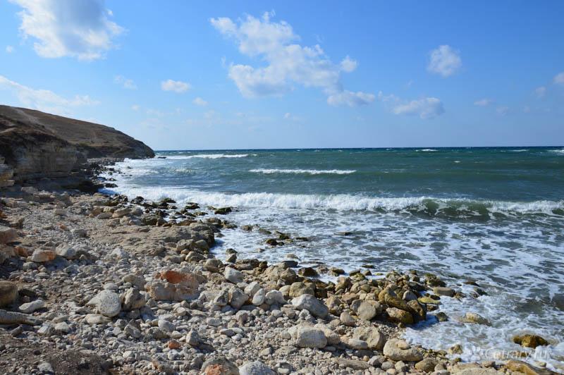 Белый берег на Тарханкуте