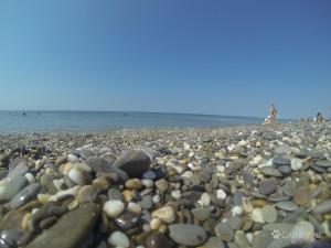 Черное море к югу от Евпатории