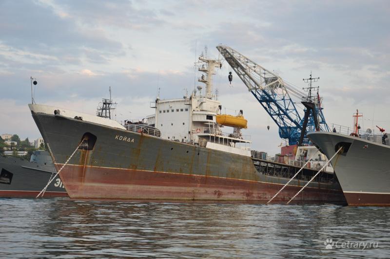 "Средний морской танкер ""Койда"" Черноморского Флота"