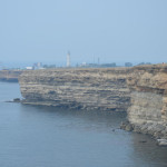 Тарханкутский маяк с юга