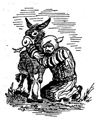 Ходжа Насреддин и его верный ишак
