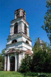 Церковь в селе Макарьевское