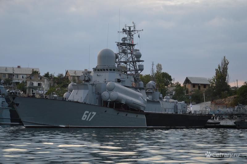 """Малый ракетный корабль """"Мираж"""" Черноморского Флота"""
