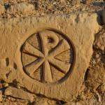Сосчитай количество крестов на руинах древнего храма и получишь координаты